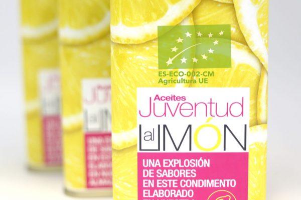 aceite de oliva vrgen extra al limón ecológico