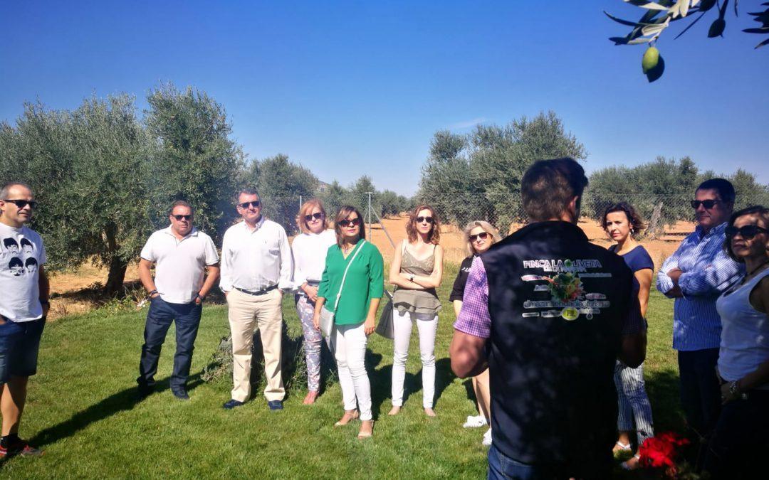 Este sábado hemos tenido otra jornada de oleoturismo en Finca La Oliveta
