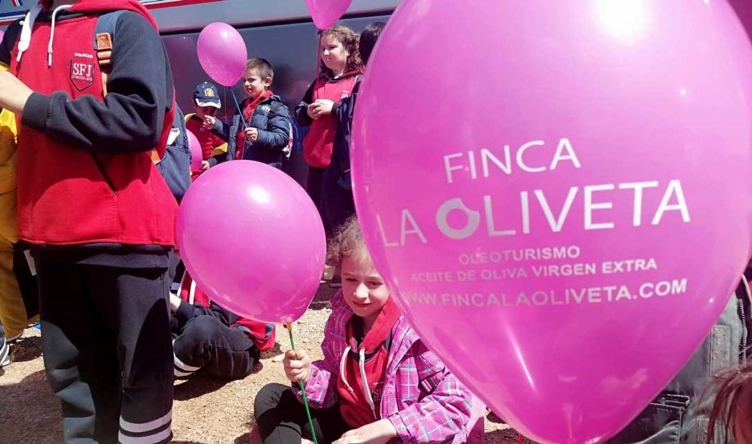 Oleoturismo para niños y niñas en Finca La Oliveta