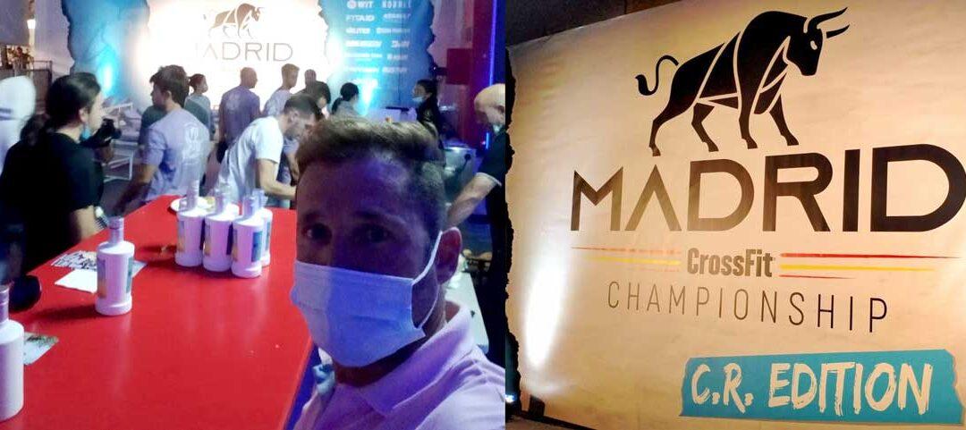 Aceites Juventud presentes en el Madrid CrossFit Championship 2021 edición CR